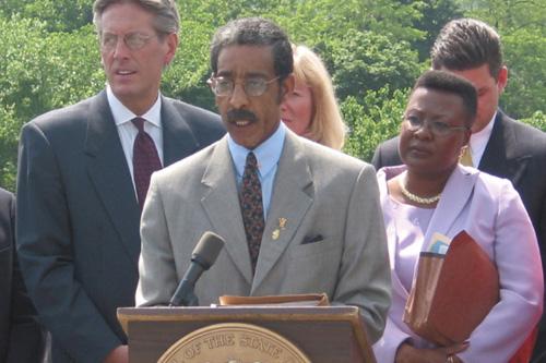 Senator Ronald Rice on the Auto Insurance Bill Signing