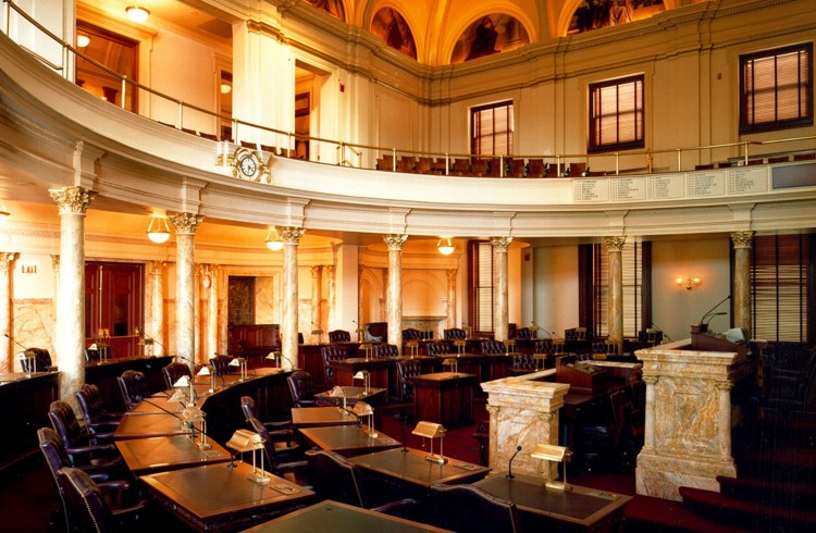 New Jersey Senate Chambers