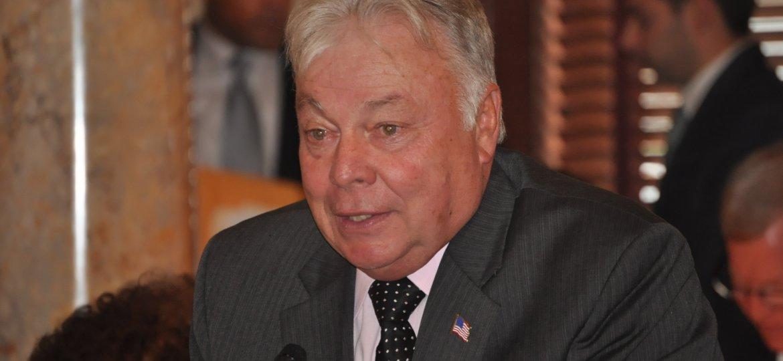 Senator Jim Beach congratulates Congressman Donald Norcross on his succession to the U.S. House of Representatives.