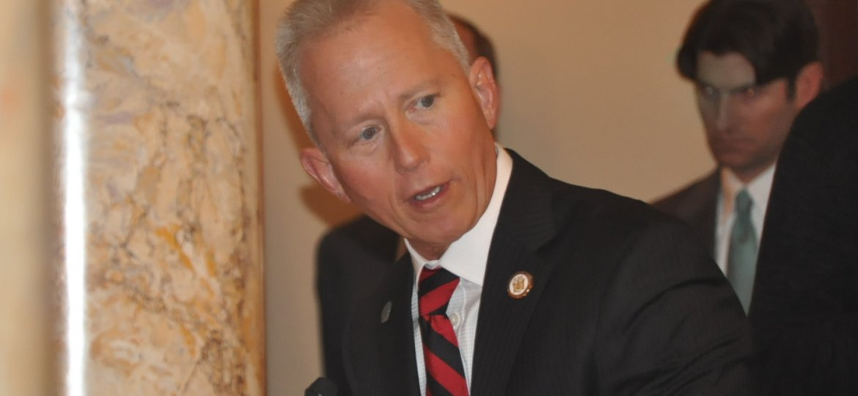Senator Jeff Van Drew congratulates Congressman Donald Norcross on his succession to the U.S. House of Representatives.
