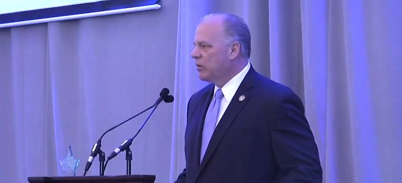 VIDEO - Sweeney Honored, Reaffirms Commitment to Direct Care
